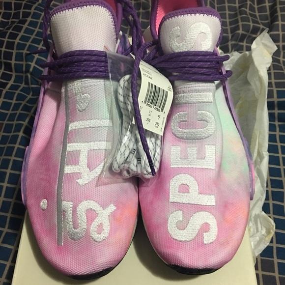 6930fb722 Pharrell Williams X Adidas NMD HU Holi